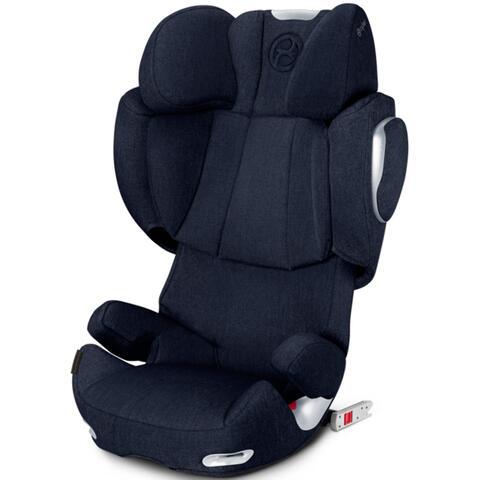 seggiolino auto cybex solution q3 fix plus midnight blue. Black Bedroom Furniture Sets. Home Design Ideas