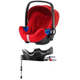 PACK SEGGIOLINO AUTO ROMER BABY SAFE I-SIZE FLAME RED