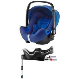 PACK SEGGIOLINO AUTO ROMER BABY SAFE I-SIZE OCEAN BLUE