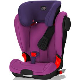 SEGGIOLINO AUTO ROMER KID FIX XP II SICT BLACK SERIES MINERAL PURPLE