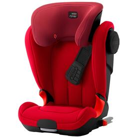 SEGGIOLINO AUTO ROMER KIDFIX XP SICT BLACK SERIES FLAME RED