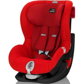 SEGGIOLINO AUTO RÖMER KING II LS BLACK SERIES FLAME RED